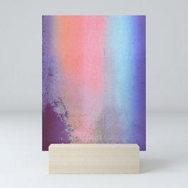 Blue Skyfall | Screen Print Mini Art Print
