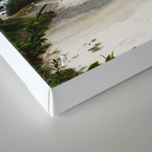 Overlook Beach Canvas Print