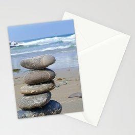 MEDITATION ROCKS Stationery Cards