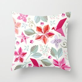 Nature unfolded Throw Pillow