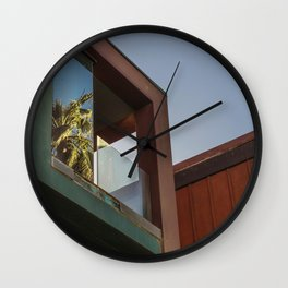 Venice Palm Wall Clock