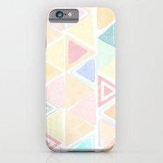 Triangle watercolor fantasy Slim Case iPhone 6s