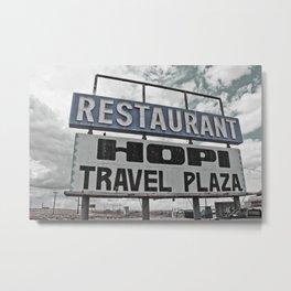 Restaurant Hopi Travel Plaza Metal Print