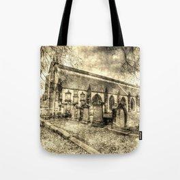 Greyfriars Kirk Edinburgh Vintage Tote Bag