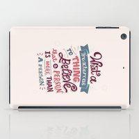 paper towns iPad Cases featuring Paper Towns: Treacherous Thing by Risa Rodil
