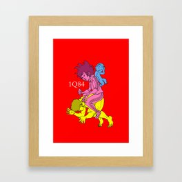 1Q84 Framed Art Print