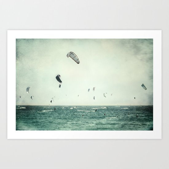 Tarifa beach Art Print