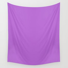 Rich lilac - solid color Wall Tapestry