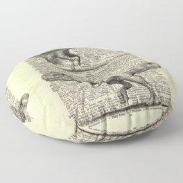 Dictionary Dinosaurs Floor Pillow