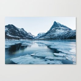 Winter in Innerdalen Canvas Print