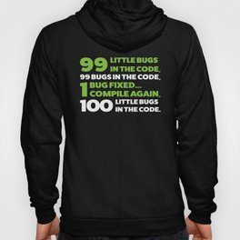 Little bugs in the code Hoody
