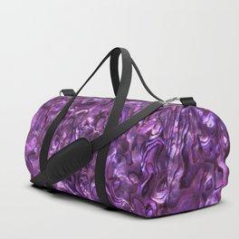 Abalone Shell | Paua Shell | Magenta Tint Duffle Bag