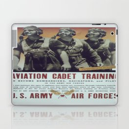 Vintage poster - Aviation Cadet Training Laptop & iPad Skin