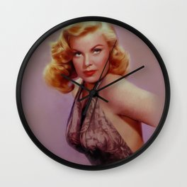 Cleo Moore, Vintage Actress Wall Clock