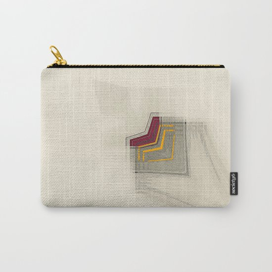 Geometric/Abstract RY Carry-All Pouch