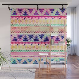 Aztec Sunset Wall Mural