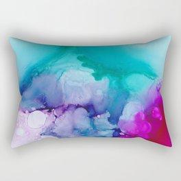 Unicorn Bath Water Rectangular Pillow