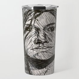 Psychedelic lines Travel Mug