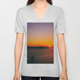 Sunset .i Unisex V-Neck