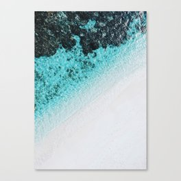 Turquoise Ocean Canvas Print