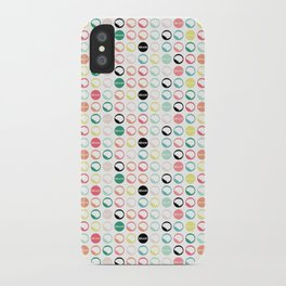 Brain Dots iPhone Case