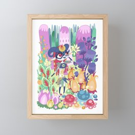 Magic Fairy Forest Framed Mini Art Print