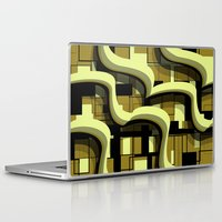 3d Laptop & iPad Skins featuring 3d by Mickaela Correia