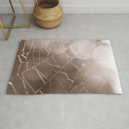 Once in a Dream - Spider Web Photo Rug