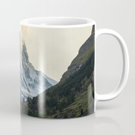 Stunning View of Matterhorn in the Swiss Alps Coffee Mug