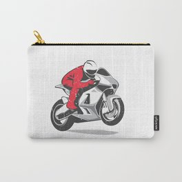 Motorcycle racer Carry-All Pouch