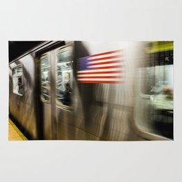 Speed of Manhattan Rug