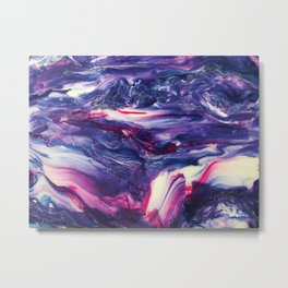 Hypnotic Hybrid - Painting Metal Print