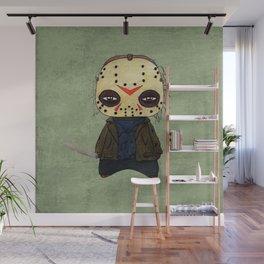 A Boy - Jason ( Friday the 13th) Wall Mural