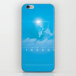 Enter The Kingdom iPhone Skin