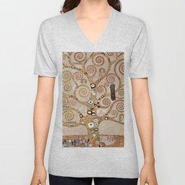 Gustav Klimt - Lebensbaum Unisex V-Neck