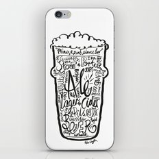 For the Love of Beer iPhone & iPod Skin