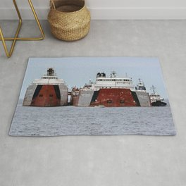 Freighter grounded Rug