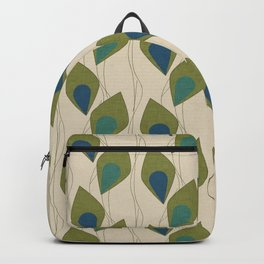 Climbing Vines Pearl Green Backpack