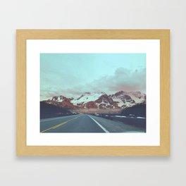 bamf road Framed Art Print
