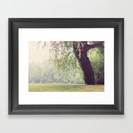 Come Sit A Spell Framed Art Print