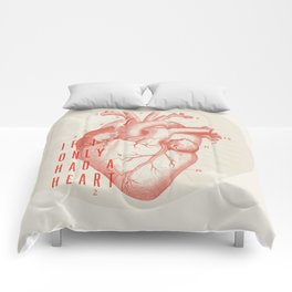 If I Only Had A Heart Comforters