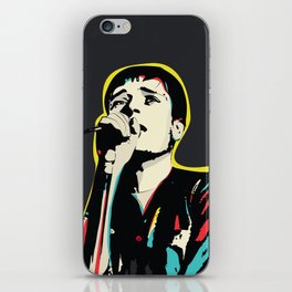 Ian Curtis Pop Art Quote / Joy Division iPhone Skin