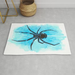 Diamond spider Rug