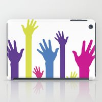 hands iPad Cases featuring Hands by Sitchko Igor