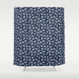 Ghosts Floating Shower Curtain
