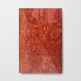 Rusty wall by Lika Ramati Metal Print