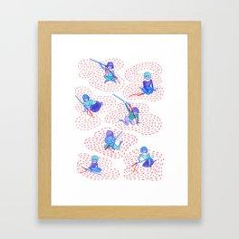 I Believed I Could Sew I Did Framed Art Print
