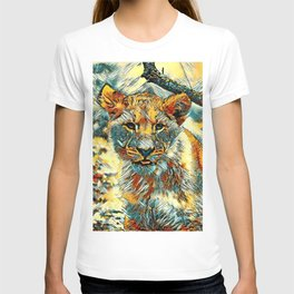 AnimalArt_Lion_20171204_by_JAMColorsSpecial T-shirt