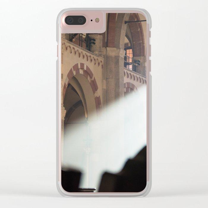 Basilique Saint Ambroise Milan Clear iPhone Case