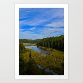 Beaver Dam Lookout Art Print